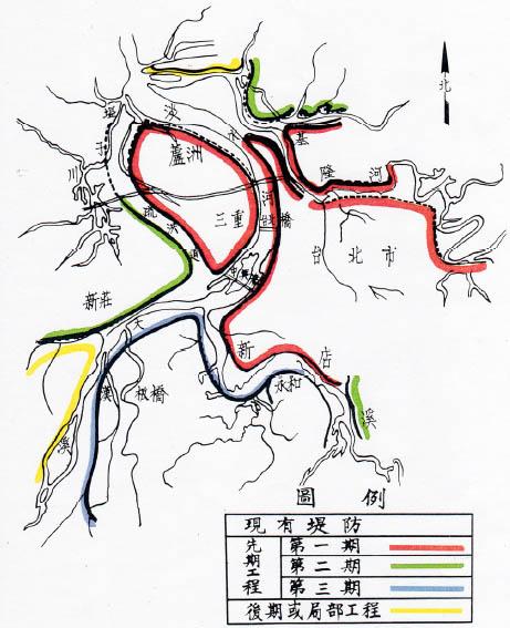 台北地區防洪計畫